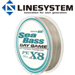 LineSystem Sea Bass X8 Day Game 150m