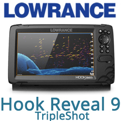 Lowrance Hook Reveal 9 TripleShot (000-15531-001)