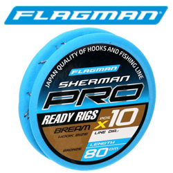 Flagman Sherman Pro Bream Ready Rig