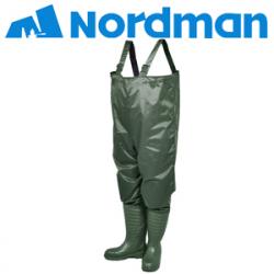 64343635c Рыбацкие сапоги Nordman Serena с надставкой из винитола олива