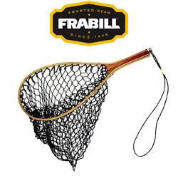 Frabill Wood Handled Trout Net