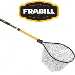 Frabill 3/8 Clear Ruber Stretch Conservation Net