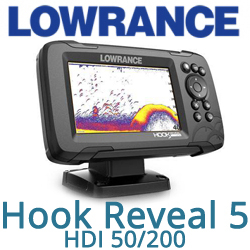 Lowrance Hook Reveal 5 HDI 50/200 (000-15502-001)