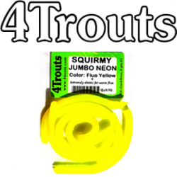 4Trouts Squirmy Neon Worms