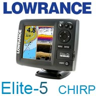 Lowrance Elite-5 CHIRP 83200