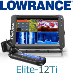 Lowrance Elite-12Ti TotalScan Transducer