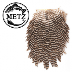 Metz #1Hen Saddle Grizzly