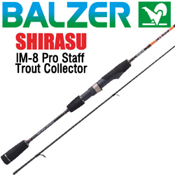 Balzer Shirasu IM-8 Pro Staff Trout Collector