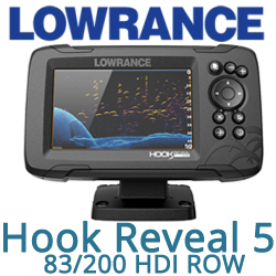 Lowrance Hook Reveal 5 83/200 HDI ROW (000-15504-001)