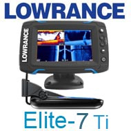 Lowrance Elite-7Ti Mid/High/TotalScan