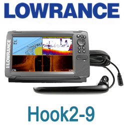 Lowrance Hook2-9 Tripleshot Us Coastal/Row