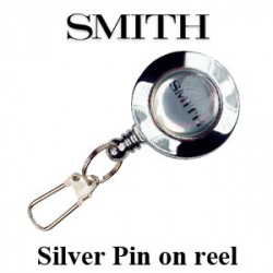 Smith Silver Pin on reel