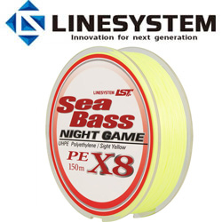 LineSystem Sea Bass X8 Night Game 150m