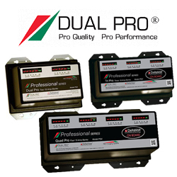 Dual Pro Professional Series Battery Chargers