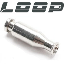 Loop Silver Bottle Tube
