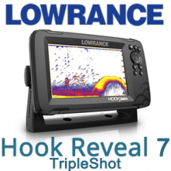 Lowrance Hook Reveal 7 TripleShot (000-15520-001)