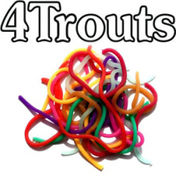 4Trouts Squirmy Jumbo Neon