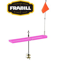 Frabill Arctic Fire Rail Pink Tip-Up