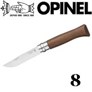 Opinel №8 VRI Classic Woods Traditions Walnut