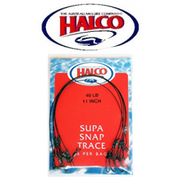 Halco Supa Snap Traces 11""