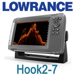 Lowrance Hook2-7 Tripleshot Us Coastal/Row