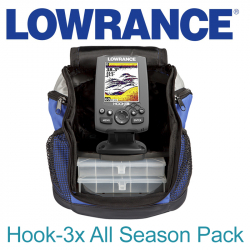Lowrance Hook-3x All Season Pack