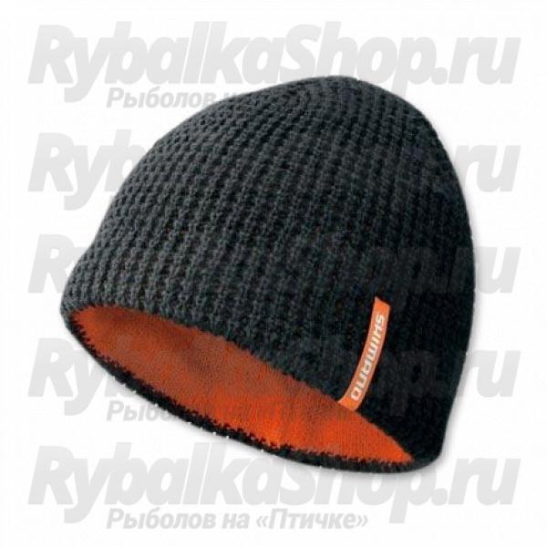 Купить шапку Shimano Knit Watch Cap CA-084M цв. Черный размер Regular a50c94fcbe48